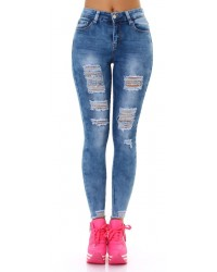 Jeans hlače DestroyedLook MG1630