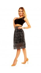 Rock skirt longer Graffith