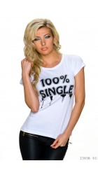 Women's T-shirts 100% single