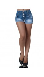 Women Denim short pants, (4025)